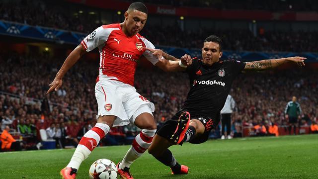 Gibbs, Monreal et Chamberlain incertains contre Southampton