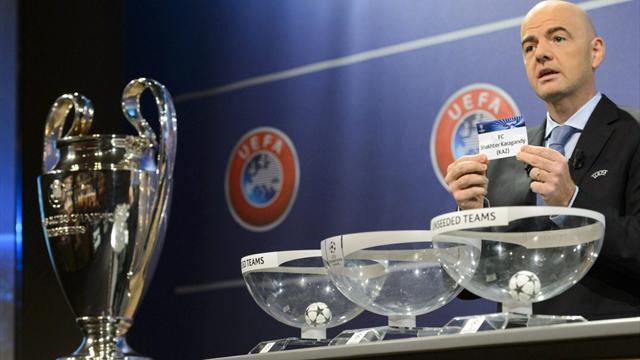 Calendario y horarios - Champions League 2017 - 2018