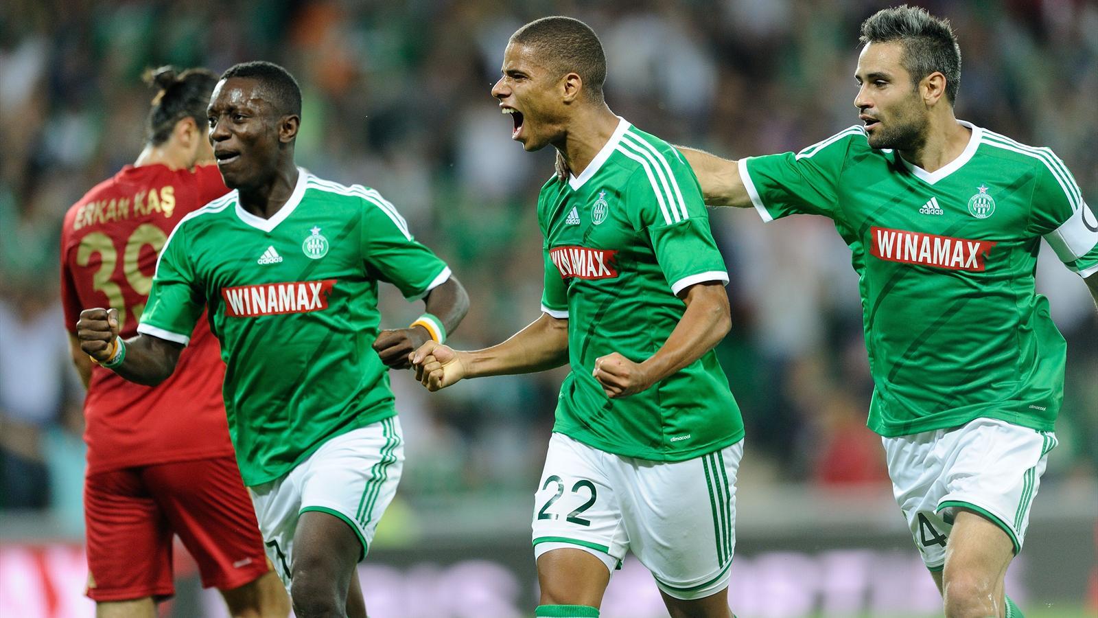 Saint-Etienne se qualifie aux tirs au but face à Karabükspor