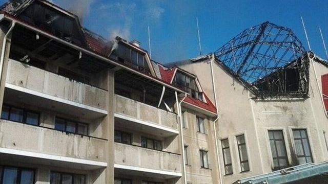 Корпус тренировочной базы «Шахтера» уничтожен в результате обстрела