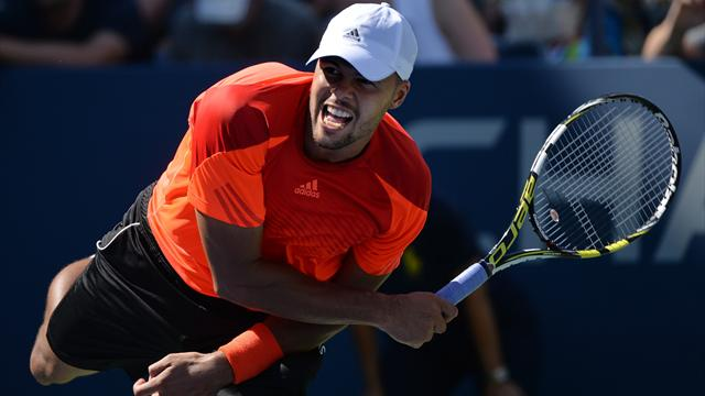 Tennis : Fid�le � lui-m�me, voil� Tsonga en huiti�mes
