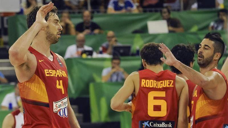Pau Gasol y Juan Carlos Navarro (España)