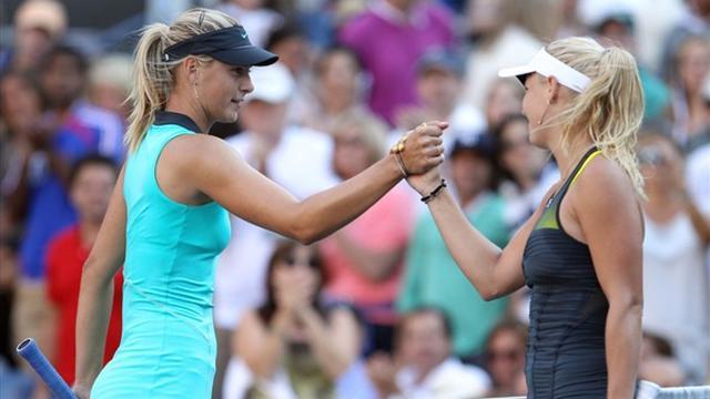Wozniacki'den Sharapova'ya yaylım ateşi