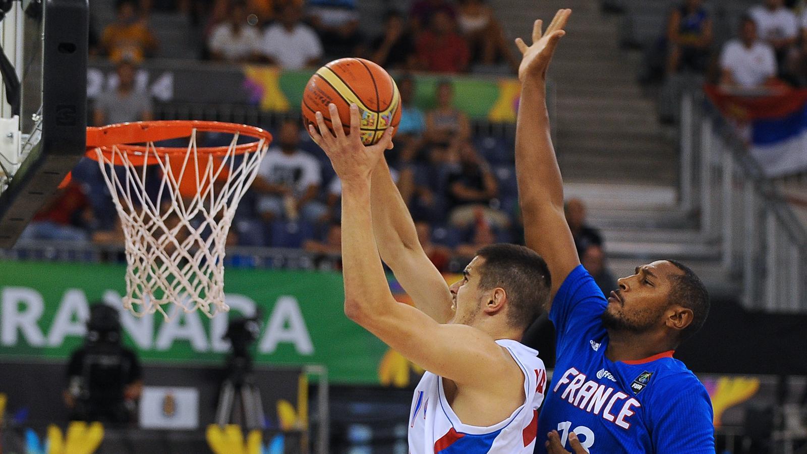 Coupe du monde victoire au finish des bleus contre la serbie 74 73 coupe du monde 2014 - Coupe du monde de basket ...