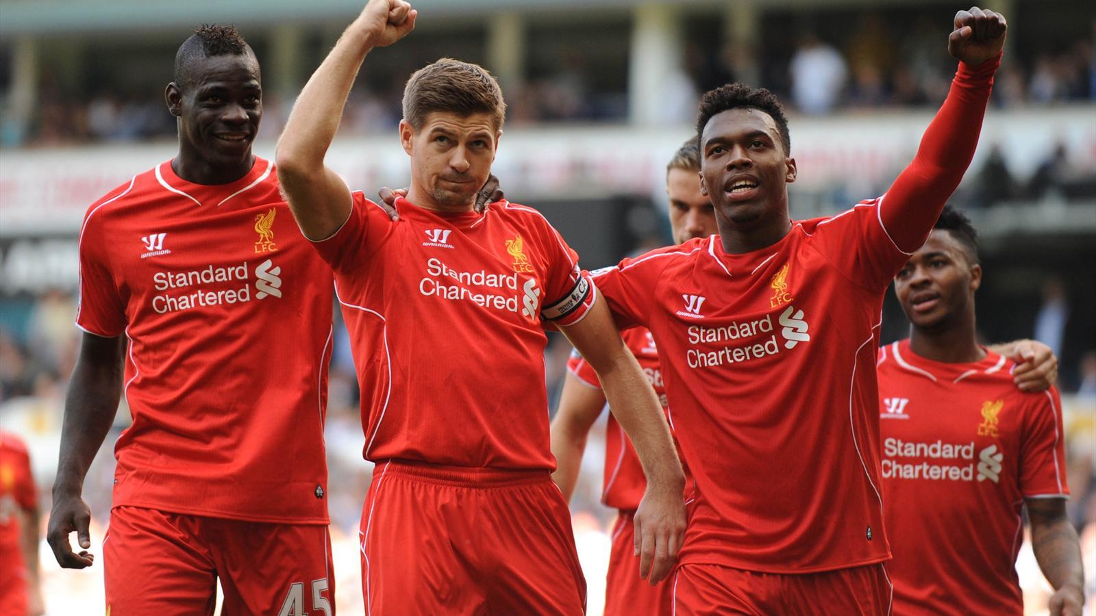 Liverpool a corrigé Tottenham à White Hart Lane