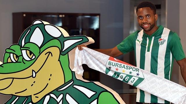 Bakambu resmen Bursaspor'da