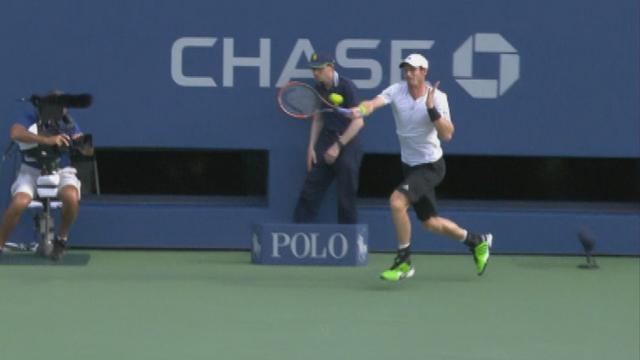 Murray, quelle d�fense !