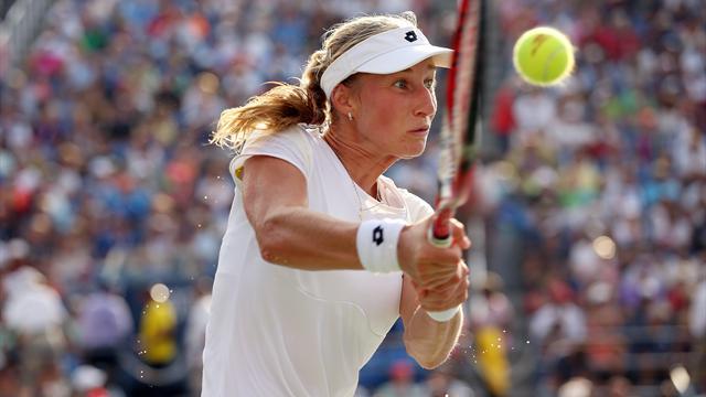 Tennis : Makarova n'a jamais laiss� de r�pit � Bouchard