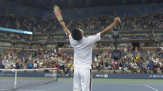 Comment Nishikori a fini par faire plier Raonic : Les temps forts