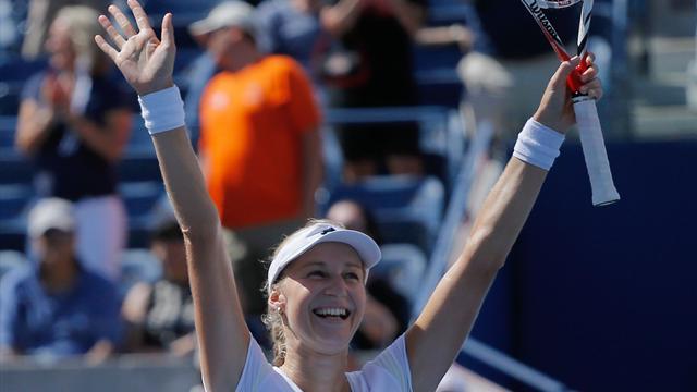 Makarova entre dans le grand monde, elle y affrontera sa reine Serena Williams