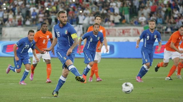 Nazionale, infortunio De Rossi: allarme per Conte