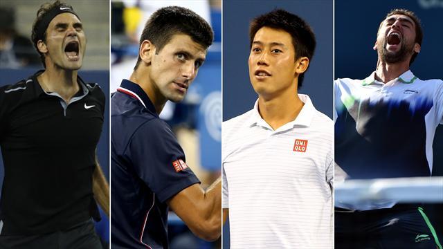 Tennis : Pour emp�cher Federer et Djokovic d'aller en finale, mieux vaut avoir gagn� un Grand Chelem