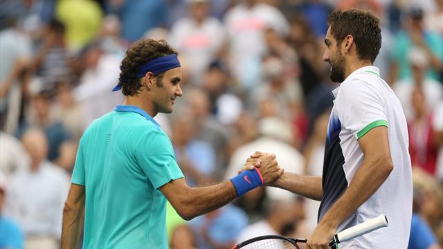 Tennis : Le jour o� Cilic a donn� une le�on � Federer