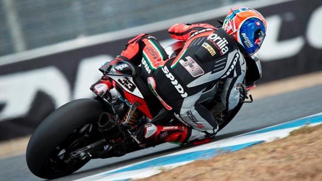 Jerez WSBK : Le doublé pour Melandri