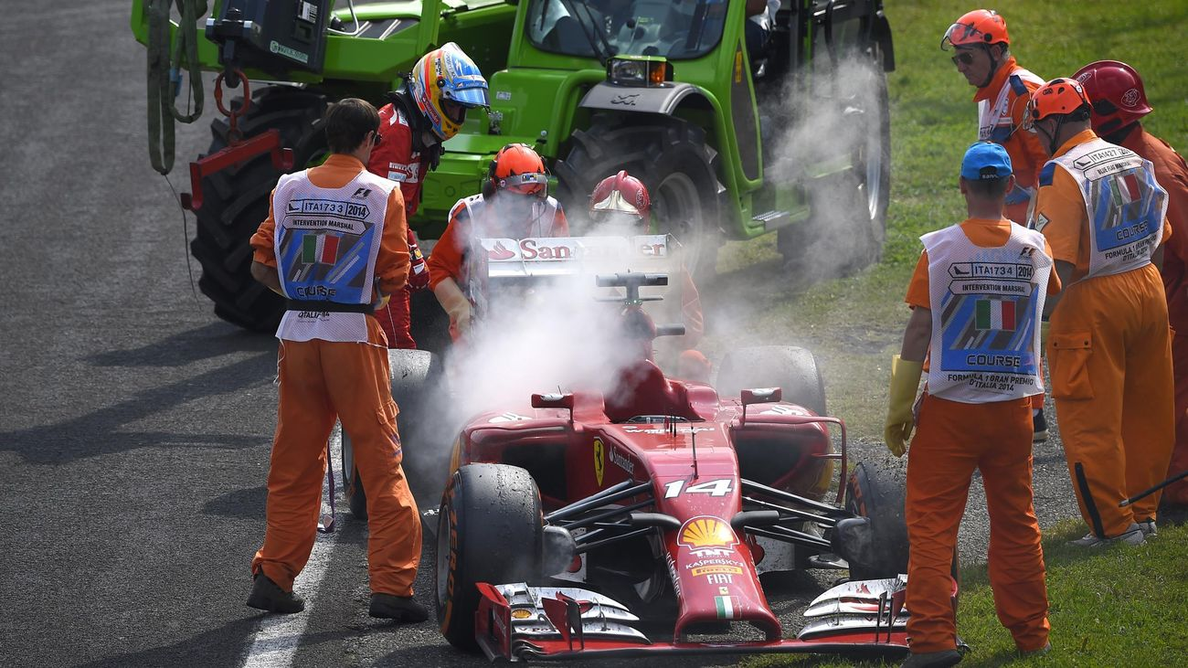 Fernando Alonso - GP Monza 2014 (AFP)