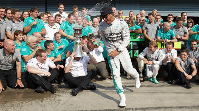 Bonus-malus : le retour de Hamilton, la défaillance de Rosberg, l'euphorie de Massa