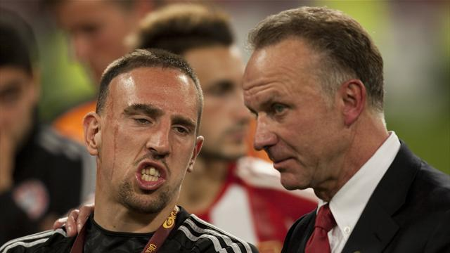 Image result for Ribery and Rummenigge
