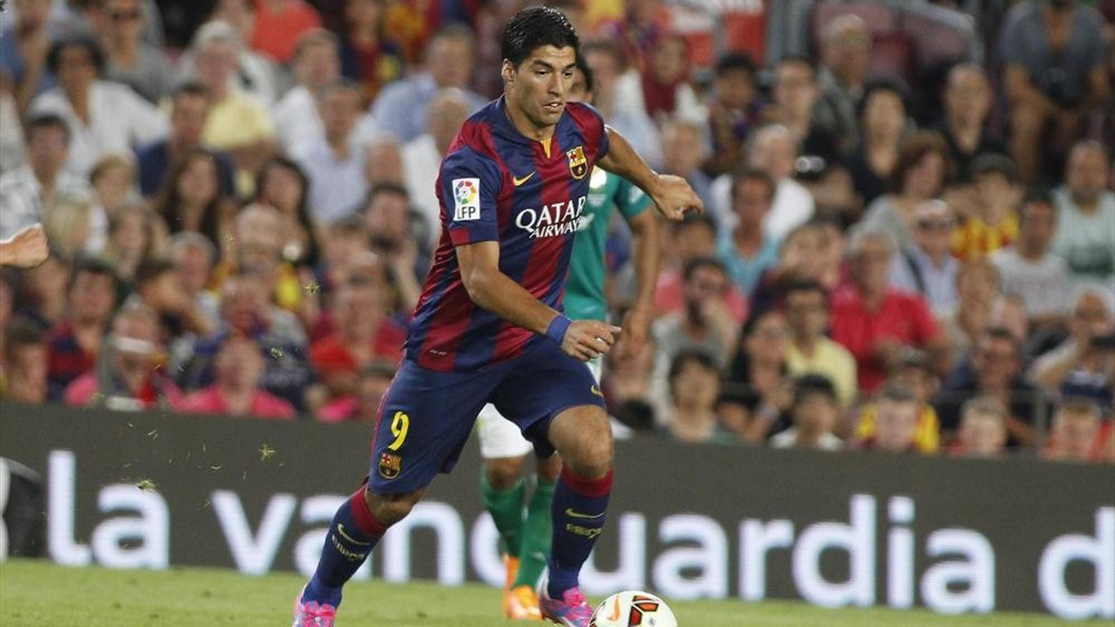 Чемпионат Испании. Луис Суарес дебютирует за «Барселону» в матче против «Реала