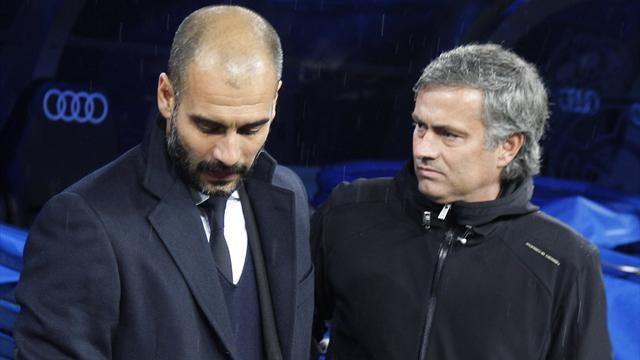 Журналист BBC: Моуринью отказался пожелать Гвардиоле удачи в «Манчестер Сити»