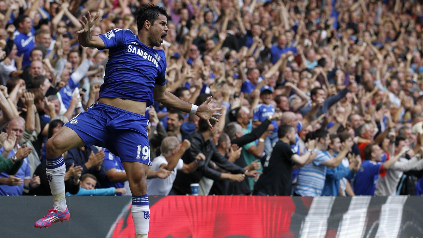 Après Chelsea-Swansea (4-2) : Diego Costa dévore à lui tout seul, ou presque, Swansea