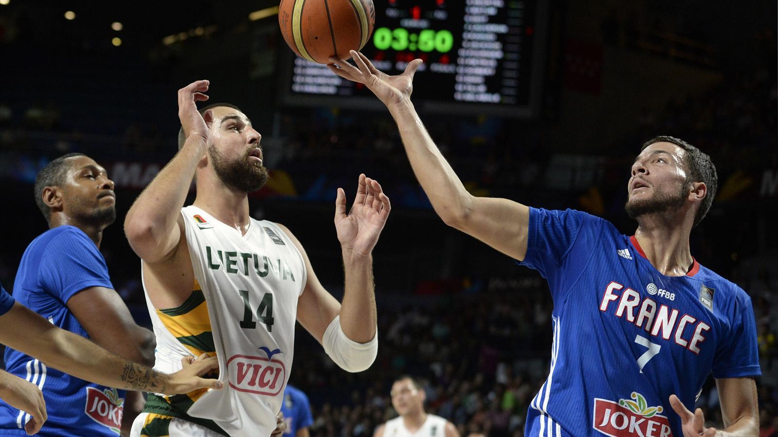 En direct live lituanie france coupe du monde 13 septembre 2014 eurosport - Live coupe de france basket ...