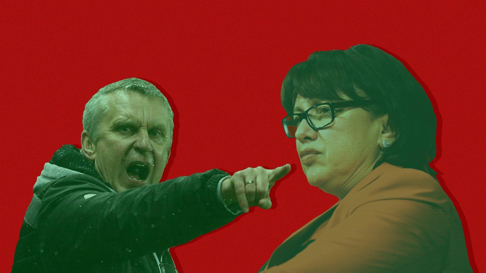 Ольга Смородская против Леонида Кучука!