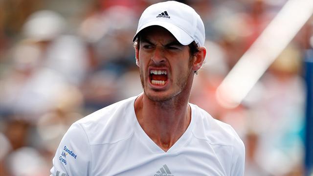 Tennis : Murray �carte cinq balles de match pour soulever son premier troph�e depuis Wimbledon 2013
