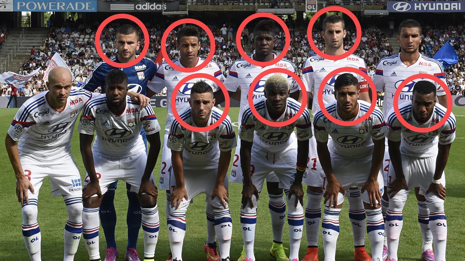 Ligue 1 ol lyon joue la carte jeune fond et la l1 - Resultat foot lyon marseille coupe de la ligue ...