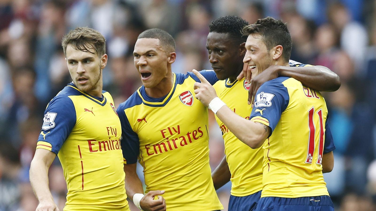 Aston Villa - Arsenal (0-3) : En quatre folles minutes, Arsenal a oublié ses soucis