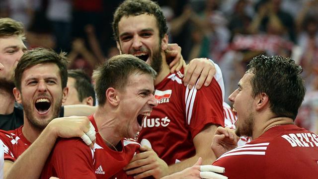 Chez elle, la Pologne rêve d'une apothéose contre le Brésil