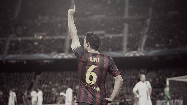 Au Barça comme avec la Roja, Xavi a joué dans la cour des grands : il raconte