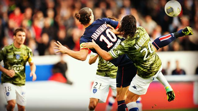 """Le top 10 des gestes """"zlatanesques"""" en Ligue 1"""