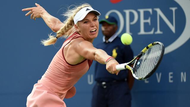 Tennis : Quand Wozniacki oublie un ch�que de? 1,45 million de dollars