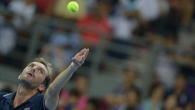 Battu une dixième fois de suite en finale, Benneteau détient un triste record