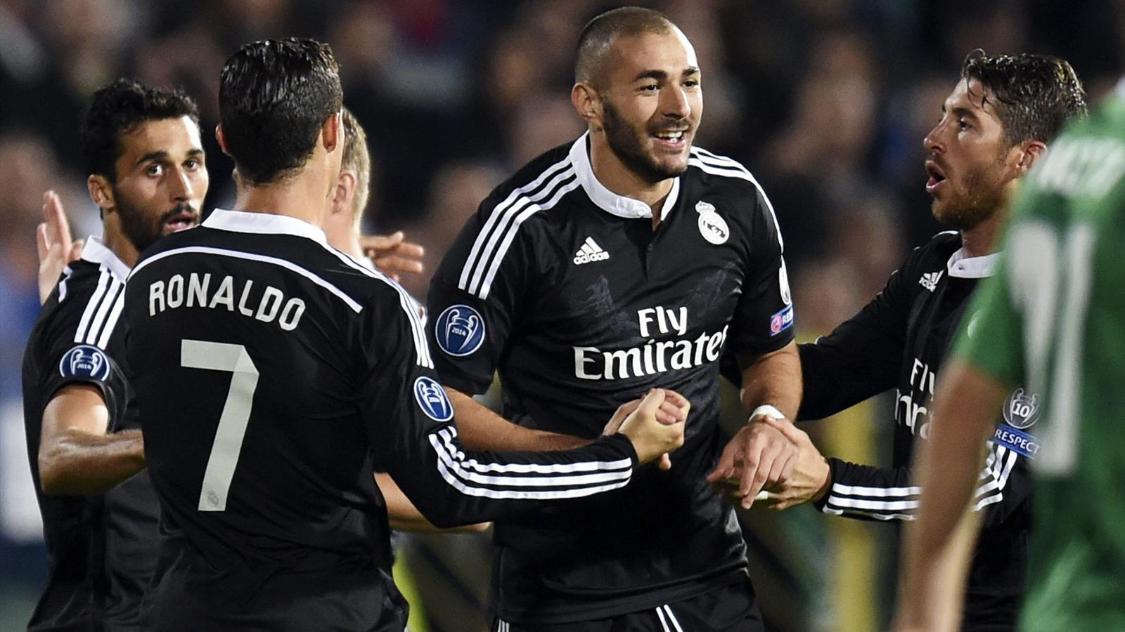 save off 2922b 1a729 Unconvincing Real Madrid sink Ludogorets - Champions League ...