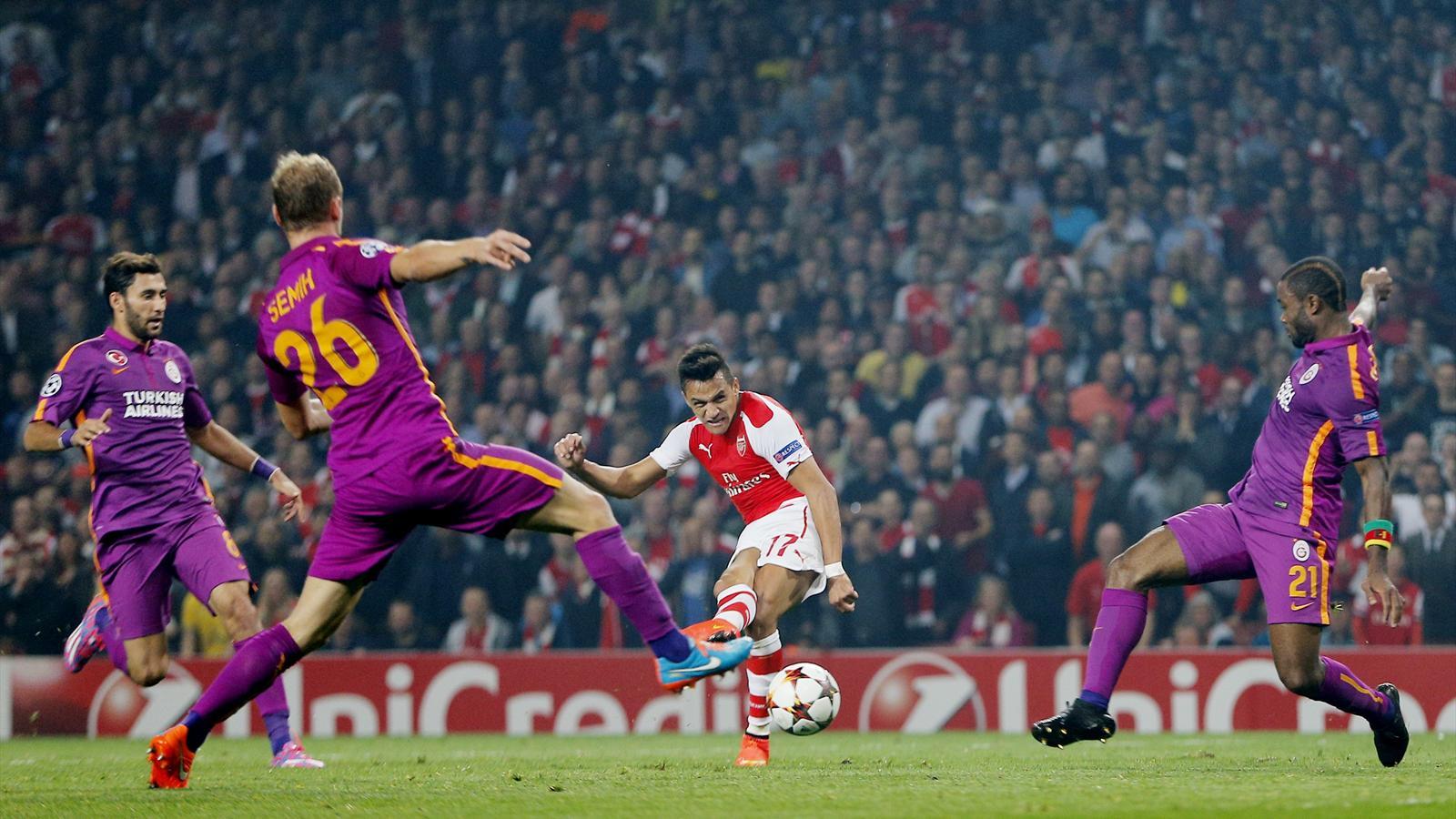 Galatasaray - Arsenal maçının muhtemel kadroları
