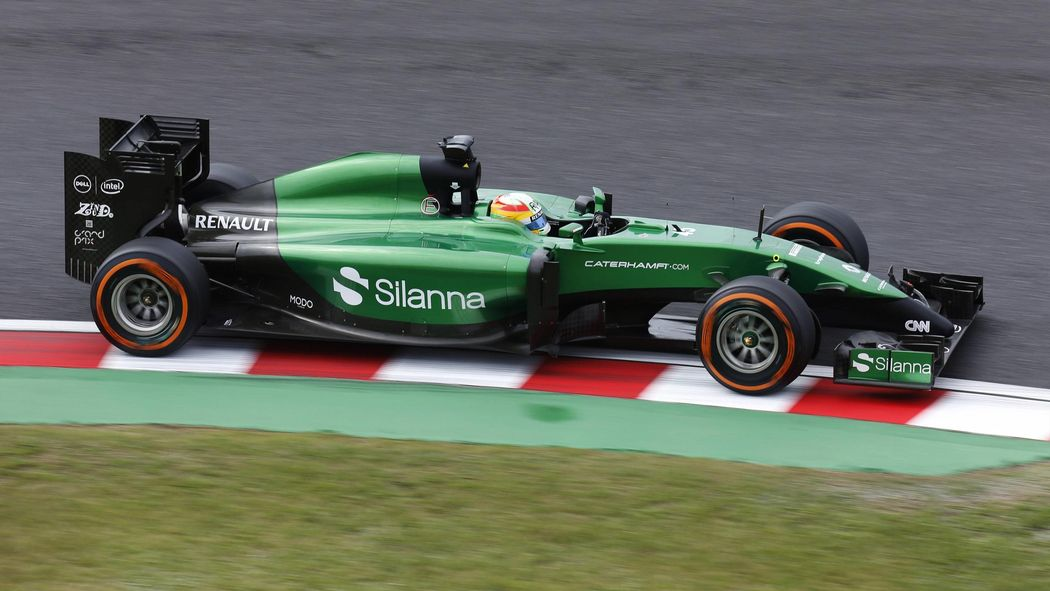 Caterham F1 Team enter administration, parts put up for sale
