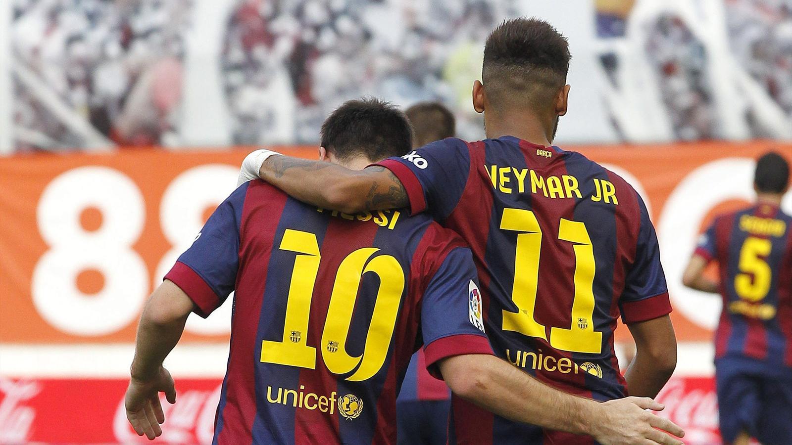 Le Barça a réagi chez le Rayo Vallecano (0-2) grâce à Lionel Messi et Neymar