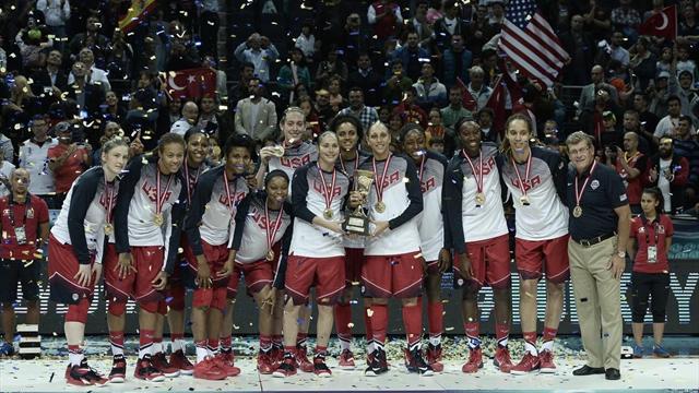 Женская сборная США в девятый раз выиграла чемпионат мира