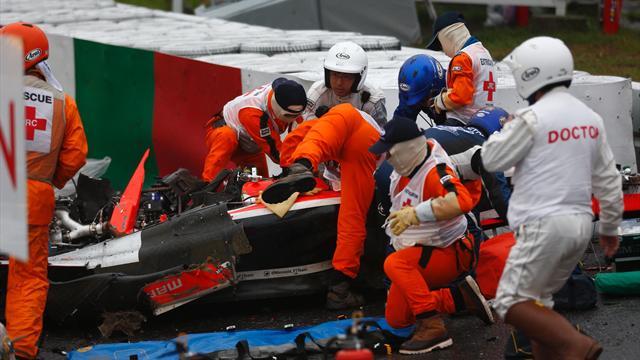 Rapport des experts de la FIA : les freins de Bianchi peut-être en cause
