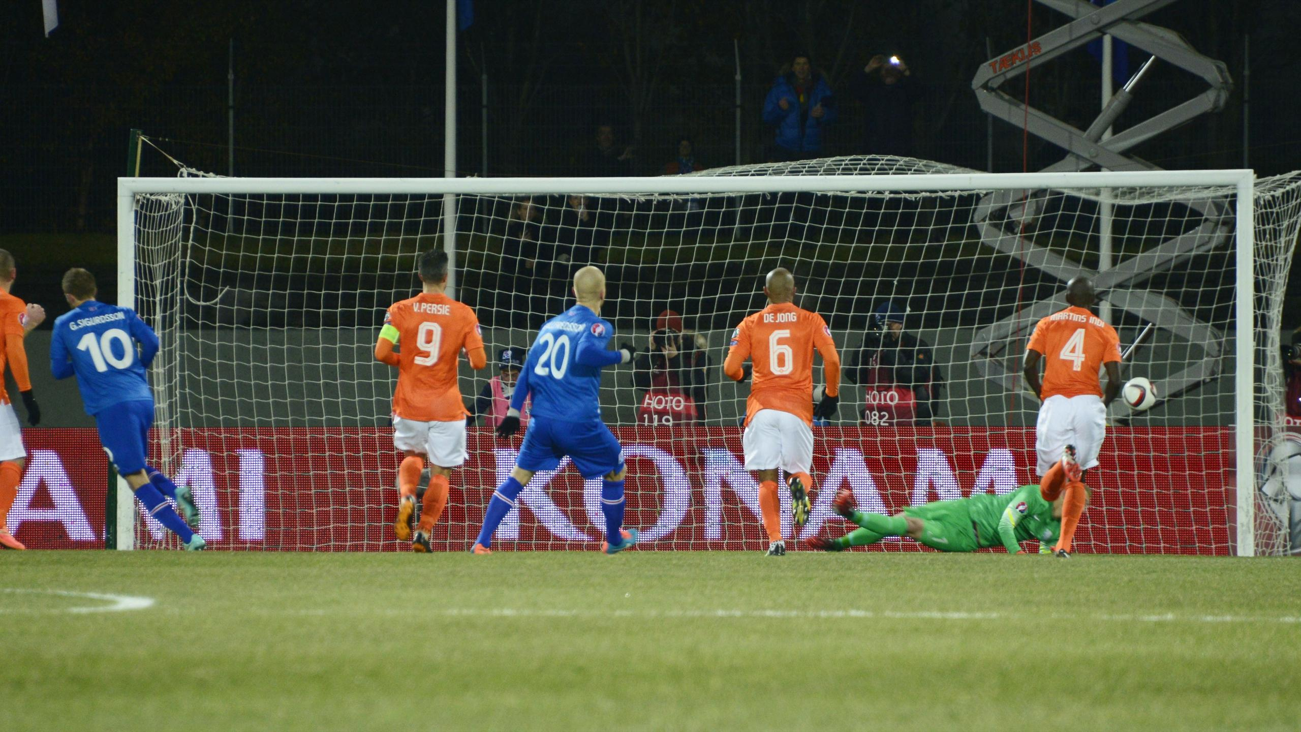 Sigurdsson stars as Iceland shock Netherlands - Eurosport