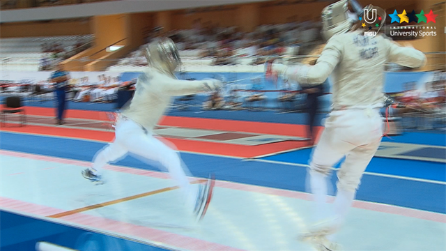 Fencing Women's Sabre Individual Final - 27th Summer Universiade 2013 - Kazan (RUS)