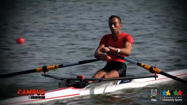 Focus Ali Abouelouafa (MAR) Nantes University, WUC 2014 Rowing - Campus Sport 27