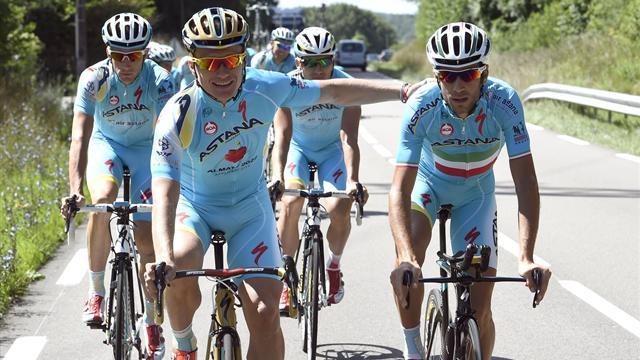Un troisième coureur contrôlé positif chez Astana