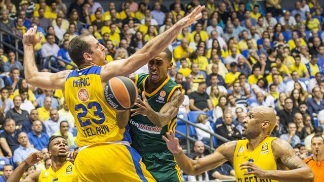 Impuissant, Limoges ne pouvait pas esp�rer mieux face au Maccabi