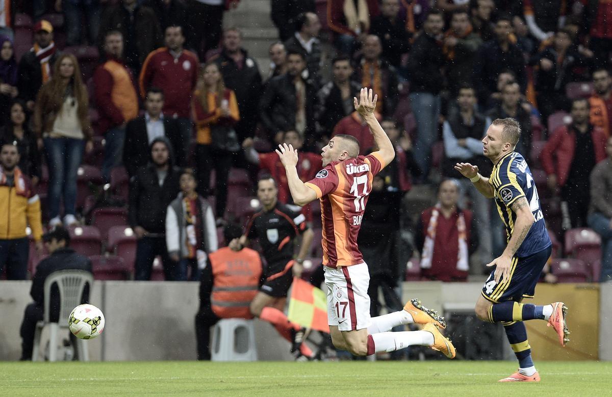 Galatasaray - Fenerbahçe Burak Yılmaz Kadlec