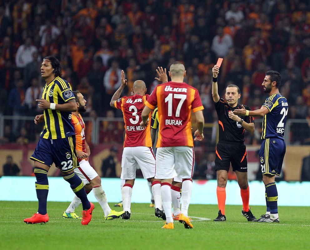 Bruno Alves - Felipe Melo - Burak Yılmaz - Selçuk Şahin, Galatasaray - Fenerbahçe