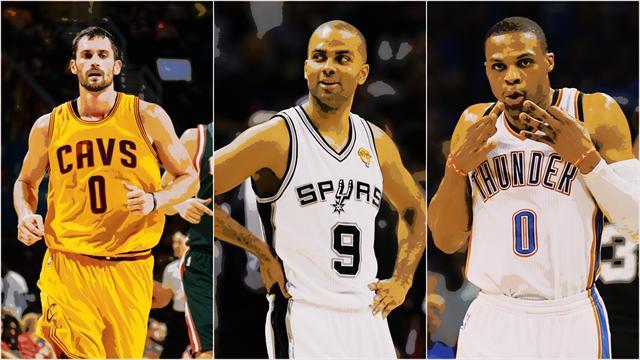De Love (10e) � Parker (6e) : Le Top 100 des meilleurs joueurs NBA