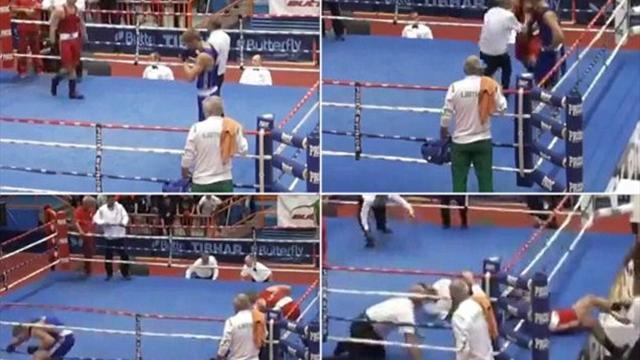 Хорватский боксер, избивший судью, получил пожизненную дисквалификацию