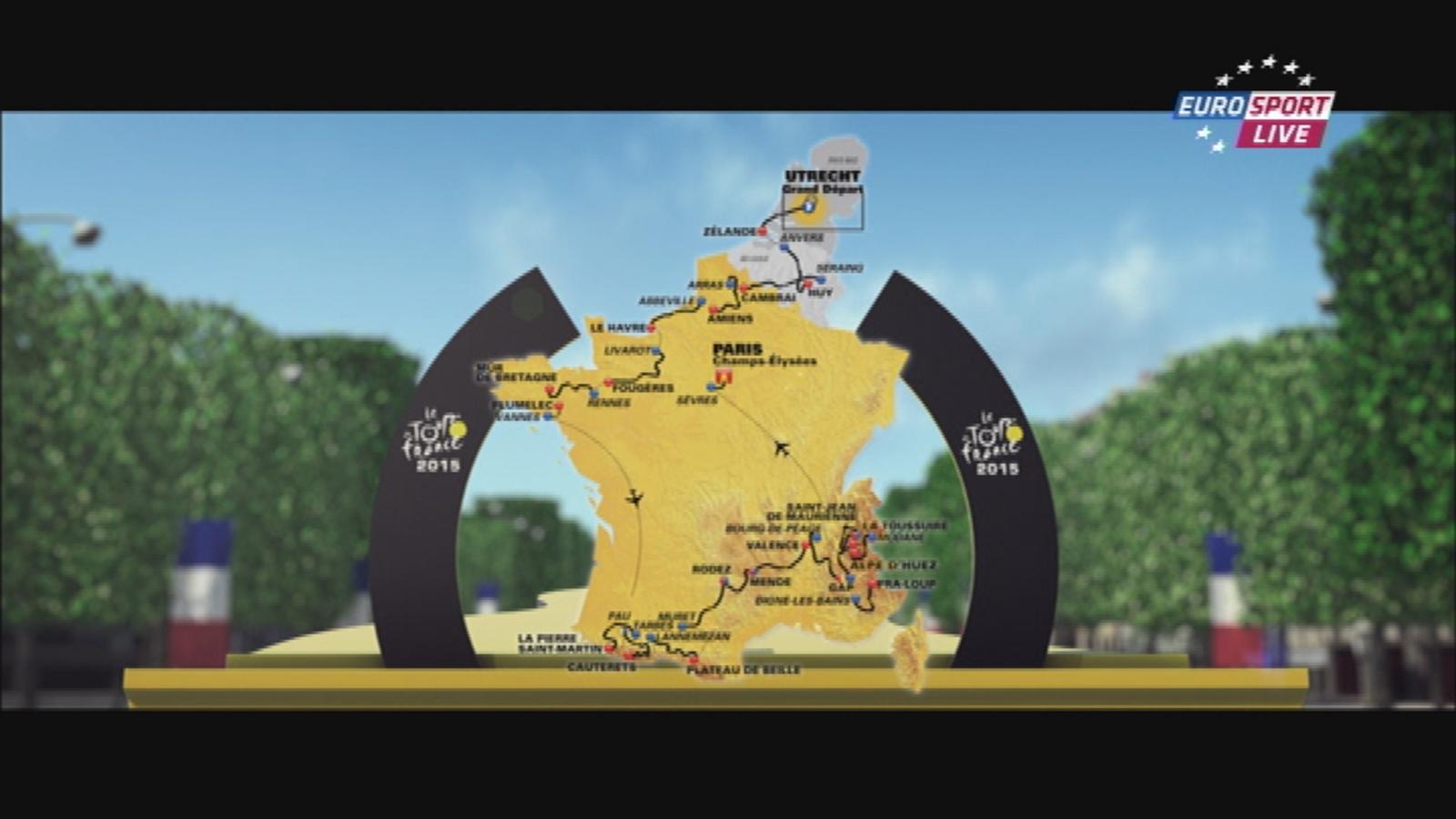 tour de france 2015 km